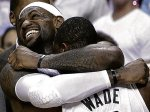 Hugs All Around In Miami Heat