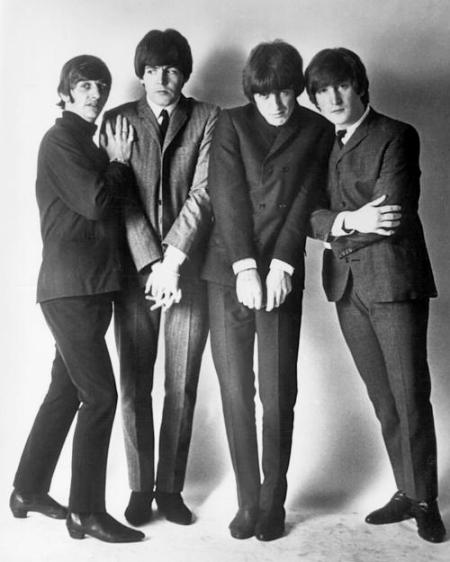 Beatles in Suits