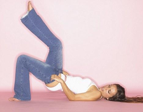 Jeans struggle